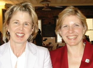 Debbie Weil & Karen Christensen, Washington DC, 17 May 2007