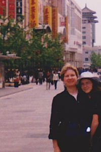 Karen-and-Rachel-Christensen-Beijing-Wangfujing-2001